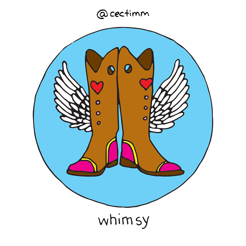cectimm 52 Week Illustration Challenge Week 1 Whimsy Big